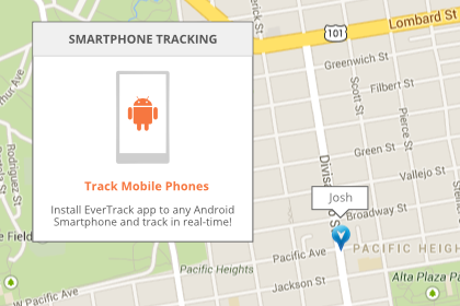 Support Mobile GPS Tracker app